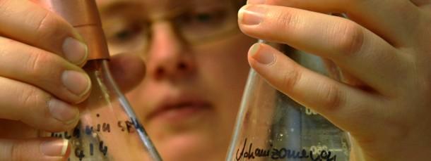 Forscherin im Labor.
