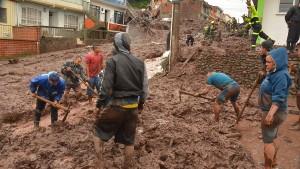 Abermals viele Tote bei Erdrutsch in Kolumbien