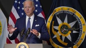 """Biden warnt vor """"echtem Krieg"""" als Folge von Cyberangriffen"""