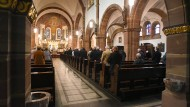 Gottesdienst in der Pfarrkirche St. Josef in Fischbach: Der Widerstand gegen den Beschluss der Synode wächst.