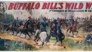 Wie ein ehemaliger Journalist, Makler und Akrobat mit seinem Wildwest-Spektakel das moderne Showgeschäft erfand: Buffalo Bills Truppe reiste mit achthundert Menschen, fünfhundert Reitpferden und paar Dutzend Bisons um die ganze Welt.