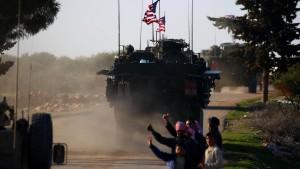 Eine Lücke in Syrien