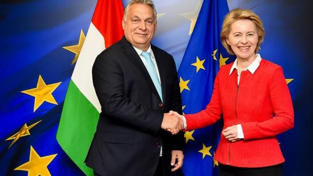 Ungarn und Polen finden plötzlich Brüssel gut