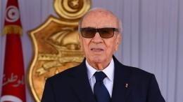 Tunesischer Präsident erwägt Rückzug des Regierungschefs