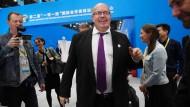 Bundeswirtschaftsminister Peter Altmaier am Freitag in Peking