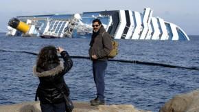 """Lage nach Havarie der """"Costa Concordia"""" vor Italien"""