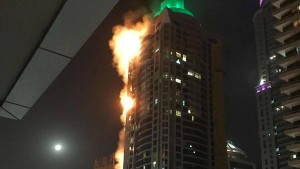 "Großbrand im ""Torch Tower"""