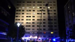 Patient stirbt bei Feuer in Krankenhaus