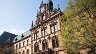 Blick auf das Frankfurter Amtsgericht in der Gerichtsstraße 2.