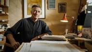 Wer vom Schreiben leben will, muss diszipliniert sein. Garry Disher, hier an seinem Arbeitsplatz, ist ein Verfechter der Sechstagewoche.