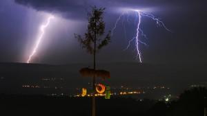 Gewitter und Sturmböen in Deutschland