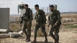 Tote bei Schusswechsel im Gazastreifen