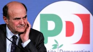 Bersani kündigt Treffen mit Berlusconi an