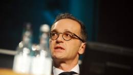 """Maas warnt vor """"beträchtlichem Schaden"""" durch ungeordneten Brexit"""