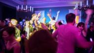 Im Lesesaal des Literaturhauses können die Frankfurter auch dieses Jahr bis in den frühen Morgen des 1. Mai tanzen.