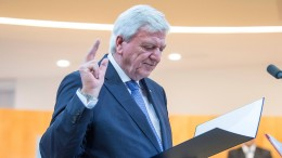 Bouffier wieder zum hessischen Ministerpräsidenten gewählt