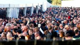 131 Neonazi-Konzerte in der ersten Jahreshälfte