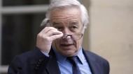 Arbeitsminister François Rebsamen