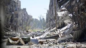 "Ban nennt Flüchtlingslager Jarmuk ""die tiefste Hölle"""