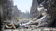 Ban nennt Flüchtlingslager Jarmuk die tiefste Hölle