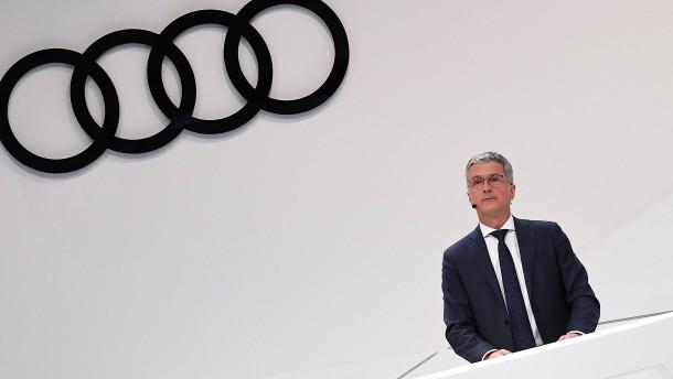 Audi-Aufsichtsrat will vier neue Vorstände berufen