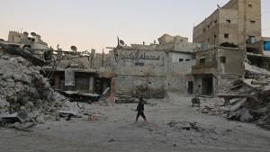"""Kerry: """"Wir werden das syrische Volk nicht im Stich lassen"""""""
