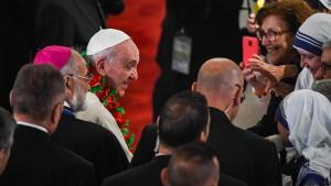 Papst setzt sich für Glaubensfreiheit ein