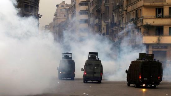 Polizei setzt Tränengas gegen Demonstranten in Kairo ein
