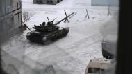 Ukrainische Streitkräfte im Osten des Landes: Dort haben die Gefechte zwischen Regierungstruppen und den von Russland unterstützten Rebellen in den vergangenen Tagen wieder deutlich zugenommen.