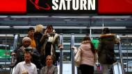 Der Elektrohandel Saturn gehört zu Ceconomy
