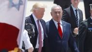 Trump in Israel angekommen