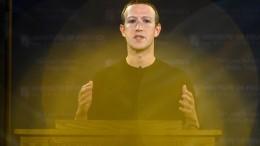 """Zuckerberg weist Vorwürfe von Ex-Mitarbeiterin als """"unlogisch"""" zurück"""
