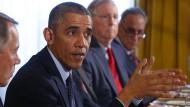 Obama und Republikaner auf Einigungskurs