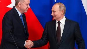 Erdogan und Putin handeln erneut Waffenruhe aus