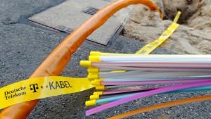Glasfaserprojekt der Telekom verzögert sich