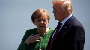 Merkel vertrauen weltweit deutlich mehr Menschen als Trump und Putin