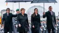 Bundeskanzlerin Merkel empfängt Ministerpräsidentin Marin am Mittwoch in Berlin.