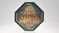 Dandanah - Klötzchenspiel aus farbigen Glasbausteinen der Bahaus-Gruppe. Berlin 1920. Schätzpreis 22.000 Euro.