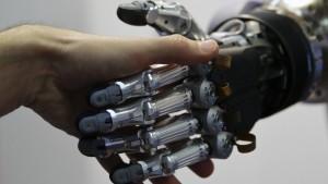 Schreibroboter stoßen in die Wall Street vor