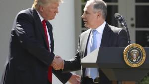 Trumps Umwelt-Hüter kassiert Obamas Benzinverbrauchsregeln