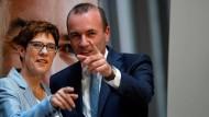 Wo geht's lang für Manfred Weber?