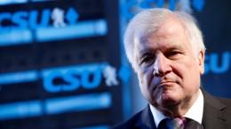 Seehofer will  im Januar CSU-Vorsitz abgeben