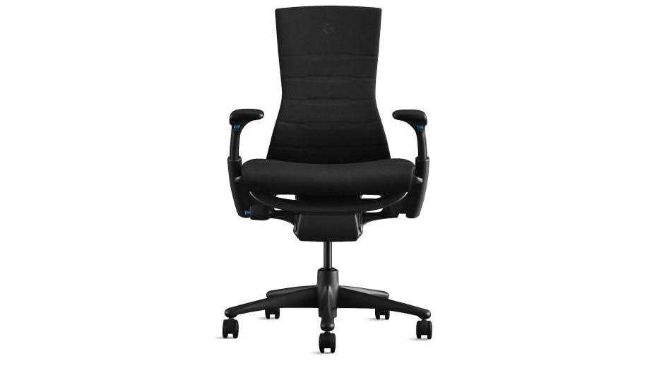 Für Sportler am PC: Logitech und Herman Miller haben diesen robusten Gaming Chair entwickelt.