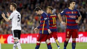 Messis 500.Tor bringt keinen Sieg für Barcelona