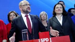 Schulz: Schwerer Tag für die deutsche Sozialdemokratie