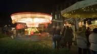 Drehmoment: Auf dem Schillerplatz geht es auch nach dem Fest noch rund.