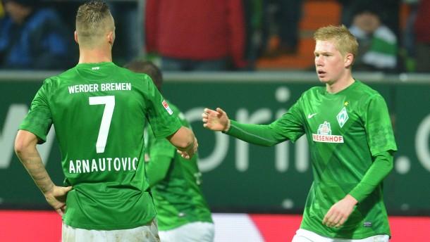 Werder gewinnt Spiel eins nach Allofs