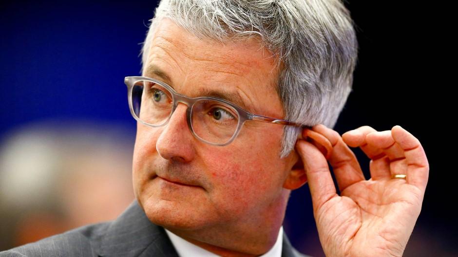 Ex-Audi-Chef Stadler bestreitet, in der Diesel-Affäre wissentlich betrogen zu haben.