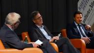 Vor der Stichwahl: F.A.Z.-Redakteur Bernhard Biener im Gespräch mit den Anwärtern.