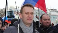 Russischer Oppositionspolitiker Nawalny festgenommen